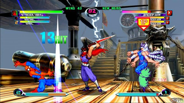 Marvel vs Capcom 2 immagine 17940