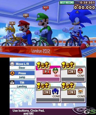Mario & Sonic ai giochi olimpici di Londra 2012 - Immagine 63033