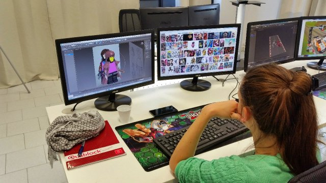 how to become a graphic designer for video games