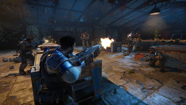 Gears of War 4 non supporterà l'HDR su PC al lancio