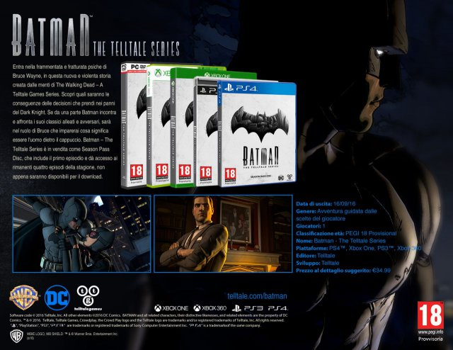 Batman - The Telltale Series - Immagine 188939