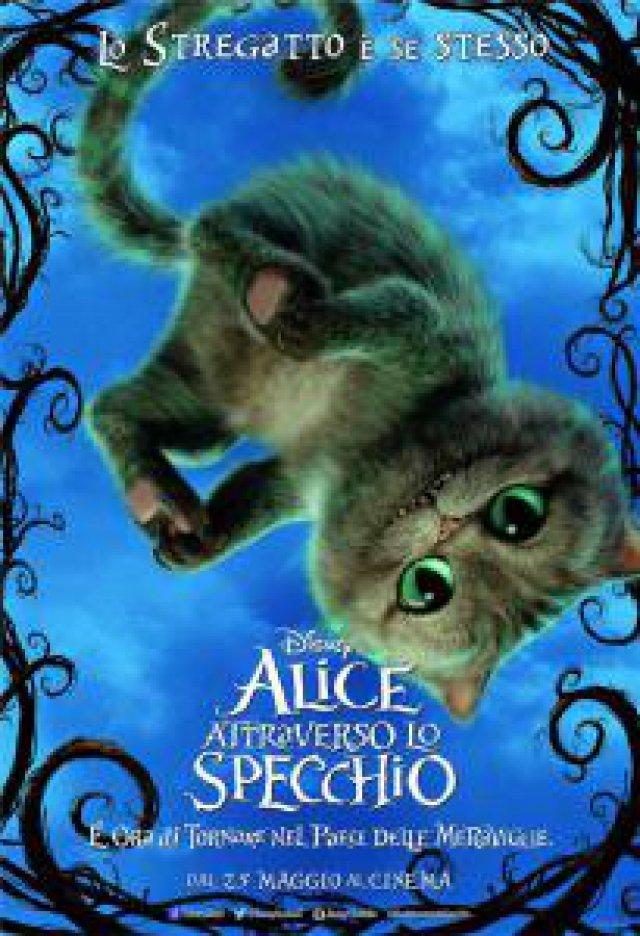 Da domani al cinema alice attraverso lo specchio attori e - Alice e lo specchio ...