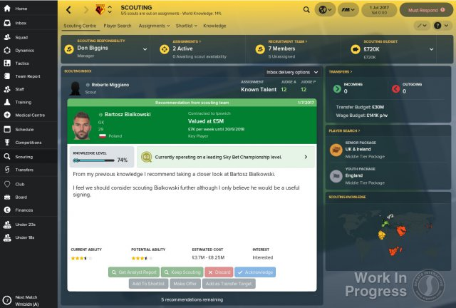 Football Manager 2018 immagine 205992