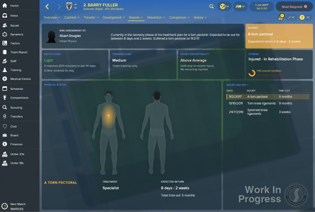 Football Manager 2018 immagine 205993