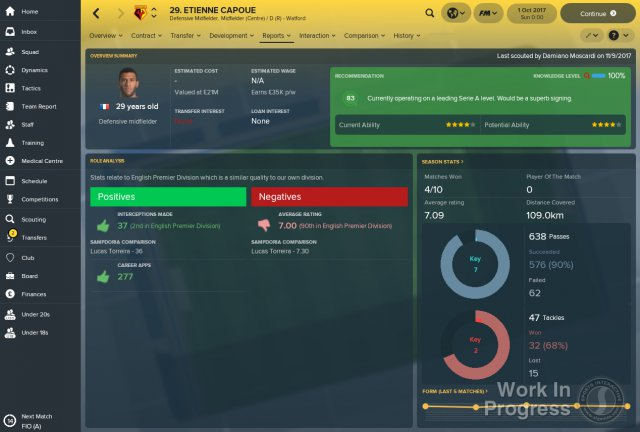 Football Manager 2018 immagine 205998