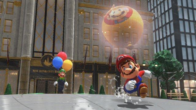 Super Mario Odyssey: un aggiornamento gratuito introduce un nuovo mini-gioco